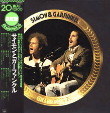 "SIMON & GARFUNKEL ""Grand Prix 20"" 1976 JAPAN ONLY special Hits Lp w/Obi/lyrics"