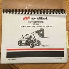 heavy equipment manuals books for ingersoll rand forklift ebay rh ebay com Ingersoll Rand Replacement Parts Ingersoll Rand Products