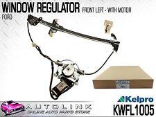 KELPRO POWER WINDOW REGULATOR FRONT LEFT SUIT FORD FALCON AU BA BF - XR6 XR8