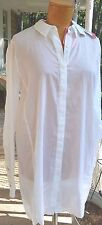 Cabi #5057 NWT Vacation Shirt Size Small $109 Tag White 100% Cotton