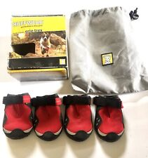 """Ruffwear Grip Trex Dog Boots Size 3"""" Large Set Of 4~ New in Box~ Booties"""