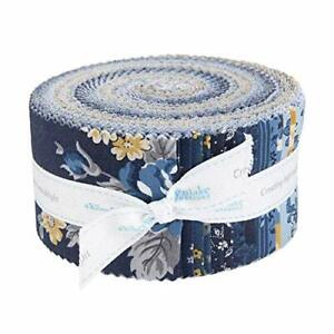 Sweet Baby Girl 2.5 Rolie Polie by Lori Whitlock for Riley Blake Designs RP-8190-40 40 2.5 x 42 Fabric Strips