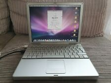 """Apple PowerBook G4 12"""" A1104 M9690LL/A Fully Working"""