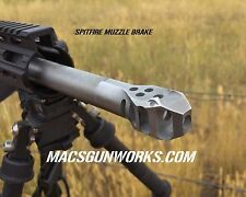 6.5 mm SPITFIRE Muzzle Brake 5/8x24 tpi  Cerakote Black   6.5 mm Grendel