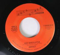 Hear! Modern Soul 45 Impact - Just Give A Little / I'M Here On Full Sc
