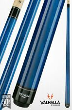 Valhalla by Viking 2 Piece Pool Cue with case - Blue - Lifetime Warranty!