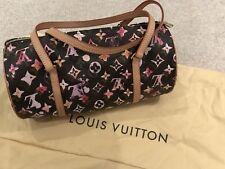 LV Genuine Louis Vuitton Monogram Watercolor Papillon Bag 2008 Limited Edition