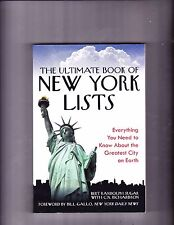 The Ultimate Book of New York Lists: Everything You Need to Know