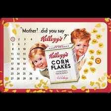 Calendario in Latta  Kellogg's Mother! 20 x 30 con magneti