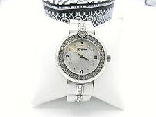 Brighton Dana Point White Watch with Case Runs