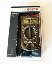 BOSCH DIGITAL MULTIMETER AUTO ANALYZER MEASURES AC/DC VOLTS OHMS AMPS FIX 7665