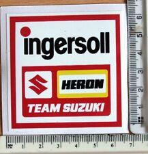 Texaco Heron Team Suzuki sticker      A19