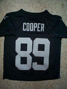 *IRREGULAR* Oakland Raiders AMARI COOPER nfl NIKE Jersey TODDLER (4-4T)