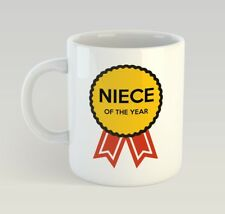 Niece Award Funny Mug Gift Novelty Humour Birthday Kid Girl