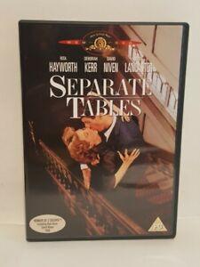 Separate Tables (1958) DVD Burt Lancaster Rita Hayworth UK R2 DVD