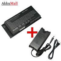 Laptop Battery/Charger For Dell Precision Mobile M4600 M4700 M6600 M6700 97KRM