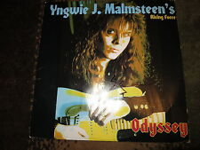YNGWIE MALMSTEEN SIGNED LP COA + PROOF! AUTOGRAPHED ALBUM RARE
