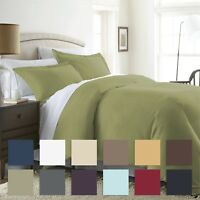 The Home Collection - 3 Piece Premium Duvet Cover Set - Premium Ultra Soft