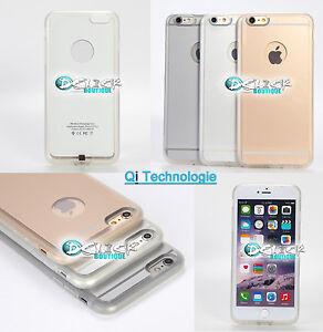 Coque Qi Apple iPhone 6 /5/5S Housse Etui Bumper Case Chargeur Wireless sans fil