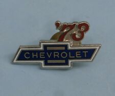 1973 Chevrolet Car Truck vintage hat pin lapel pin tie tac collector button