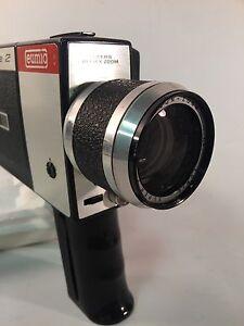 eumigette 2 eumig 8mm 1.8 Rare Cine Camera 1960s retro vintage.