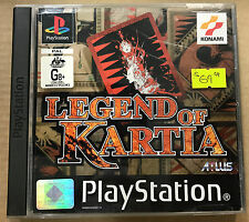 Legend of Kartia (Sony Playstation 1, 1999)