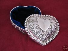 Kaitlyn Heart Shaped Jewelry Box Filagree FREE SHIPPING