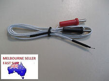 K TYPE THERMOCOUPLE SENSOR PROBE -50 to 350 deg C FOR FLUKE , MULTIMETER
