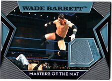 WWE Wade Barrett Topps 2011 Masters of the Mat Event Used Relic Card FD30