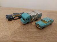 Husky Mecedes 220 Refuse Van Buick Electra Police Car Lot