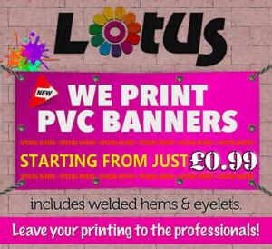 CUSTOM PERSONALISED OUTDOOR BANNER PRINTING PVC BUSINESS ADVERTISING , Birthday