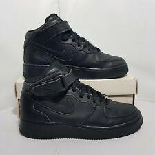 Nike Air Force 1 AF1 Size 5.5 UK Black US 6 Y EU 38.5 Women 5 UK CM24 314195 004