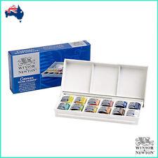 Winsor and Newton Cotman Half Pan Watercolour 'Sketchers Box' 14pc Set