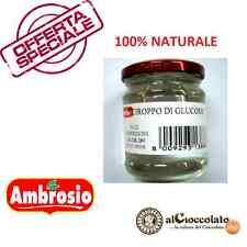 SCIROPPO DI GLUCOSIO AMBROSIO 280gr INCOLORE PER CARAMELLE - GOMMOSI - GELATI