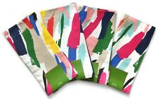 "*NEW* 4 x Kate Spade ""Brush Strokes"" Napkins - Primary Multi-Color *NWT*"