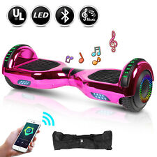 New 6.5 Bluetooth Hoverboard for Girls Electric Self Balancing Scooter Led Light