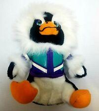 "🧡 Vintage Acme Penguin with Jacket Stuffed animal 11"" 1995 bird flipper plush"
