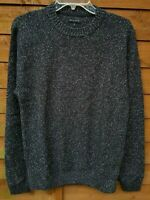 Men`s Ex-Store Textured Cotton Crew Neck Jumper Size Medium 40""