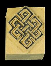 Small Node Without Fine Stamp Pad Buddhist Scrapbooking Wood Tibetan 525 51