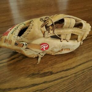 "Rawlings RBG36Y Cal Ripken Jr. 9.5"" Youth Baseball Glove Softball RH Throw VTG"