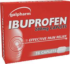 Galpharm Ibuprofen 200mg Caplets 16 Pack - Effective pain Relief
