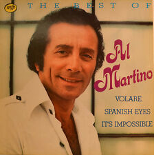"THE BEST OF AL MARTINO - VOLARE SPANISH OCCHI IT`S IMPOSSIBLE 12"" LP (W20)"