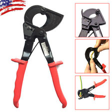 Portable Electric Ratchet Cable Wire Line Cutter Plier Cutting Hand Tool 240mm