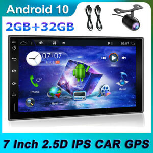 "7"" 2Din GPS Autoradio Android 10.0 FM AM MP5 Raiao Bluetooth-5.0 CarPlay WIFI"