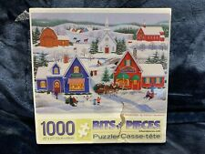 """Wintertime Bits and Pieces 1000 Pc Puzzle NEW 20"""" x 27"""""""