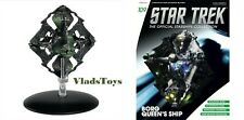 Eaglemoss Star Trek Octahedron-shaped starship Borg Queen's Ship #109 w/Magazine