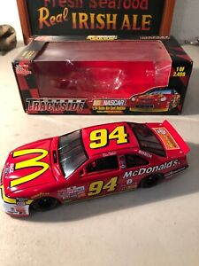 Rare !!! 10th Anniversary Bill Elliott #94 McDonalds Nascar 1 Of 2,499 Trackside