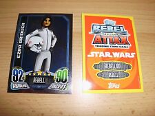 Topps Star Wars Rebel Attax1,1 Spiegelfolienkarte  Nr.139 Ezra Bridger ,rot/gelb