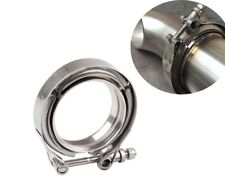 "3"" inch Stainless Steel 304 V-Band Clamp Flange for Turbo Exhaust Down Pipes Kit"