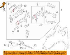 FORD OEM 13-18 C-Max FENDER-Outer Reinforcement Left DM5Z16019B